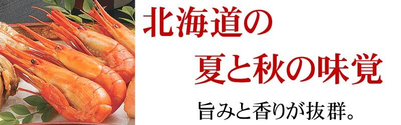 大変貴重なエビです。北海道産しまえび