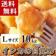 【送料無料】北海道産じゃがいも インカのめざめ 約10kg (新ジャガイモ Lサイズ インカの目覚め・芋)