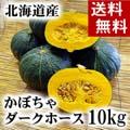 【送料無料】かぼちゃ ダークホース 合計10kg(5〜7玉入り)