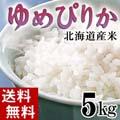 【送料無料】28年度 新米 北海道産のお米 ゆめぴりか 5kg(白米精米)