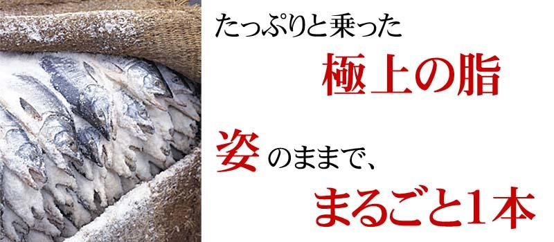 新巻鮭塩漬け