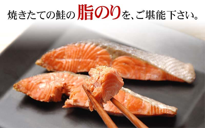 焼きたての鮭の脂のりをご堪能下さい